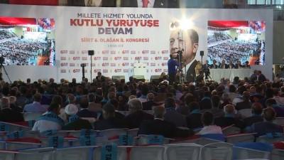AK Parti 6. Olağan İl Kongresi - Gençlik ve Spor Bakanı Osman Aşkın Bak - SİİRT