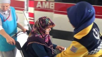 Bolu'da 4 kişilik aile karbonmonoksit gazından etkilendi