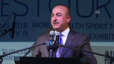 Çavuşoğlu, HESTOUREX 2018'in gala yemeğine katıldı (1) - ANTALYA