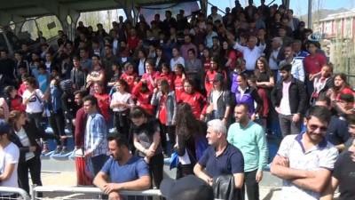 Hakkari'deki amatör maçta olaylar çıktı