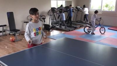 Özel çocukların hayatlarına sporla dokunuş - MERSİN