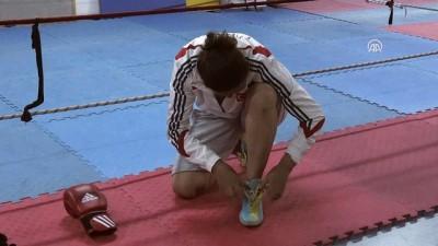Şampiyon boksör Elif, unvanını korumak istiyor - ZONGULDAK