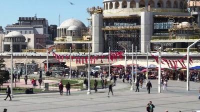 Taksim'e yapılan caminin yüzde 90'ı tamamlandı - İSTANBUL