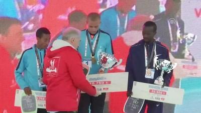 Vodafone 13. İstanbul Yarı Maratonu ödül töreni - İSTANBUL