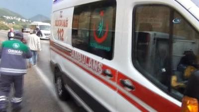muslu -  Adana'da öğrenci servisi devrildi: 16 yaralı