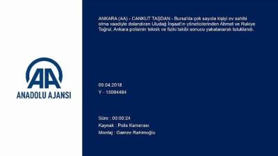 Dolandırıcı firari çift Ankara'da yakalandı
