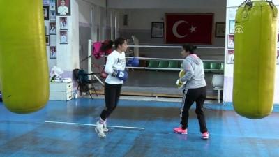 Genç Kız Milli Boks Takımı'nın kampı sürüyor - ÇANKIRI