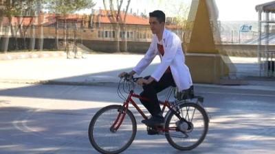 Genç mucitler, 870 liraya elektrikli bisiklet yaptılar