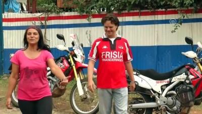 Gezgin çift Afrika'da 32 ülkeyi motosikletle dolaştı - ADDİS ABABA