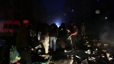 sivil savunma - İdlib'de patlama: 15 ölü, 36 yaralı (1)