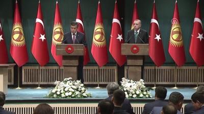 Kırgızistan Cumhurbaşkanı Ceenbekov:  'Yüksek stratejik işbirliği seviyesini geliştirmek ortak amacımızdır' - ANKARA