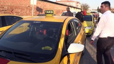 Taksici ve dolmuşçulardan terör saldırısına tepki - KIRKLARELİ
