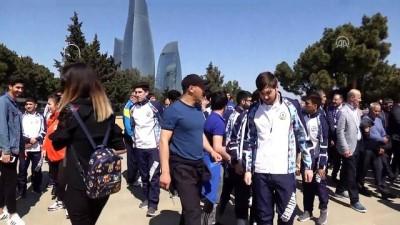 Türk dünyasının üniversiteli sporcuları Bakü'de buluştu - BAKÜ