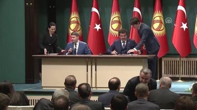 Türkiye-Kırgızistan arasında ikili anlaşmalar imzalandı - ANKARA