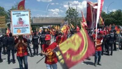 Ankara'da 1 Mayıs, binlerce kişinin katılımıyla kutlandı