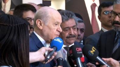 devlet bahceli - Bahçeli'den 'CHP adayı' yorumu