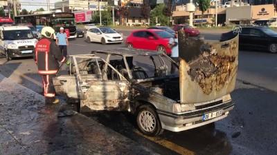 Başkentte araç yangını - ANKARA