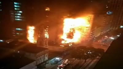 - Brezilya'da Yangın Faciasında Gökdelen Çöktü: 1 Ölü, 3 Kayıp
