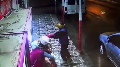 Et çalan 'maskeli hırsızlar' güvenlik kamerasında - GAZİANTEP