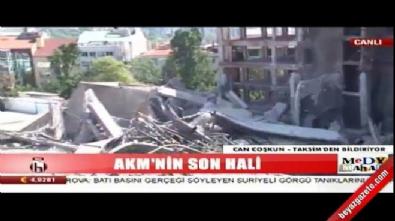 HALK TV, AKM'ye ağlıyor