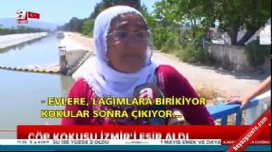 İzmir'de birçok bölge kötü kokular yayan çöp dağlarına döndü