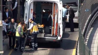 Metrobüs'ün çarptığı Suriyeli çocuk işçi hayatını kaybetti