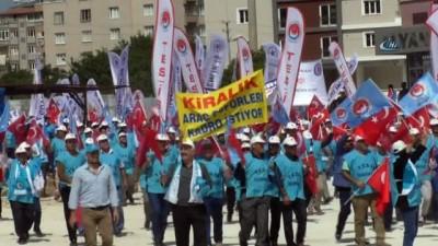 Türk-İş 1 Mayıs'ı Hatay'da kutladı