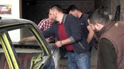 Aracını Türkiye'de boyatmak için binlerce kilometre yaptı - ZONGULDAK