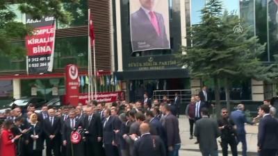 Cumhurbaşkanı Erdoğan, BBP'yi ziyaret etti (4) - ANKARA