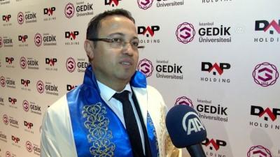 DAP Holding Yönetim Kurulu Başkanına fahri doktora (2) - İSTANBUL