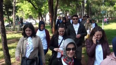 'Dünya Sağlık İçin Hareket Et Günü'nde yürüdüler