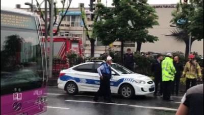 - Fatih'te zincirleme trafik kazası : 2 yaralı