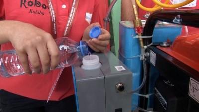 Lise öğrencileri benzini koklayarak çalışan makine geliştirdi