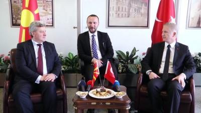 Makedonya Cumhurbaşkanı Gyorge İvanov, Sivas'ta