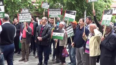 ABD ve Fransa'ya protesto - KONYA/AKSARAY/AFYONKARAHİSAR