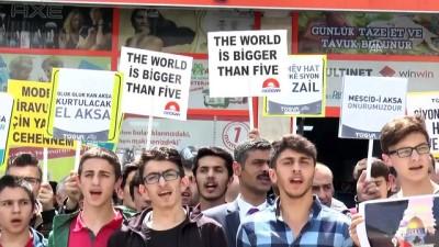 ABD ve İsrail protestoları - ARTVİN/KASTAMONU