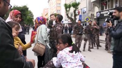 Afrin'den dönen özel harekatçılar için karşılama töreni - ESKİŞEHİR