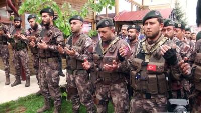 Afrin kahramanları Sivas'a döndü