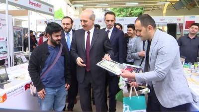 Bakan Kurtulmuş, Uluslararası Dergi Fuarı'nı ziyaret etti - İSTANBUL