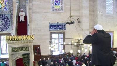 Diyanet İşleri Başkanı Erbaş, Süleymaniye Camisi'nde hutbe verdi - İSTANBUL