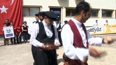 Elazığ'da, engellilerin katıldığı bisiklet turu düzenlendi