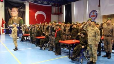 Engellilerin askerlik heyecanı - BURSA