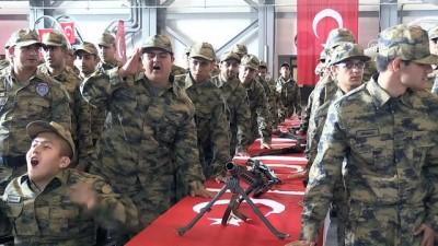 Engellilerin bir günlük askerlik heyecanı - KONYA