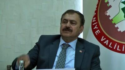 Eroğlu: 'Barajların doluluk oranında sıkıntı yok' - OSMANİYE