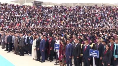 Erzincan Binali Yıldırım Üniversitesinde mezuniyet töreni - ERZİNCAN