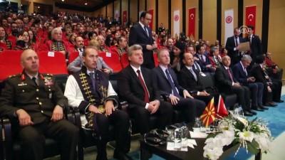 Makedonya Cumhurbaşkanı Ivanov'a fahri doktora unvanı verildi- SİVAS