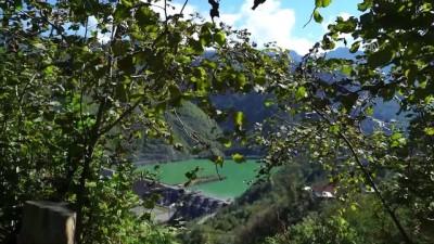 'Mühendislik harikası' Deriner Barajı havadan görüntülendi - ARTVİN
