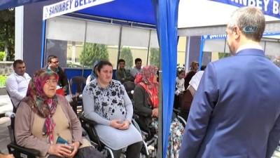 Şahinbey'de 61 engelliye akülü ve tekerlekli sandalye