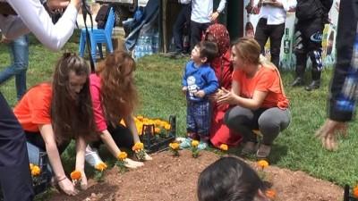SANKO Park Çiçek Karnavalı ile Gaziantep'e renk katıyor