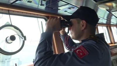 TCG Bayraktar, kapılarını basın mensuplarına açtı - İZMİR